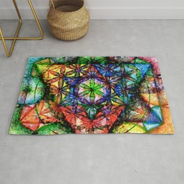 Soul Essence - The Sacred Geometry Collection Rug