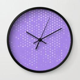 leo zodiac sign pattern pu Wall Clock