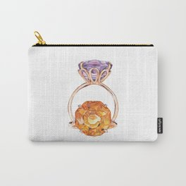 Circles in circles Carry-All Pouch