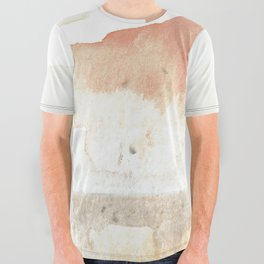 Terra Cotta Hills Abstract Landsape All Over Graphic Tee