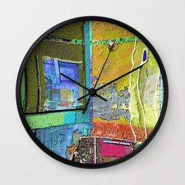 A Morning Scene Abstract No. 3 Wall Clock