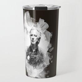 """Laptop-Skin """"Alan Rickman - Artist´s Brushes"""" Travel Mug"""
