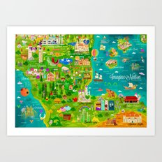 Imagine Nation Art Print