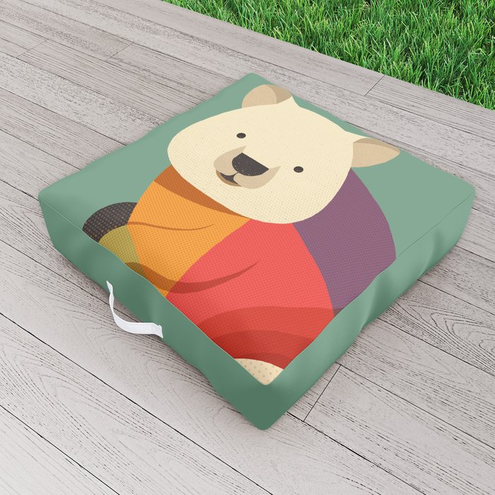 Quokka Outdoor Floor Cushion