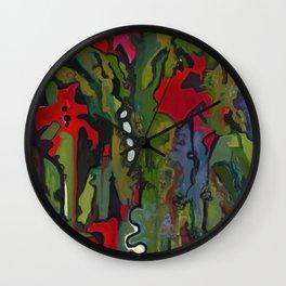 Offering to Xochiquetzal Wall Clock