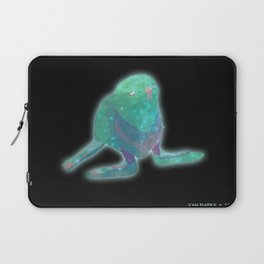 Albino Seal From The Cosmos Laptop Sleeve