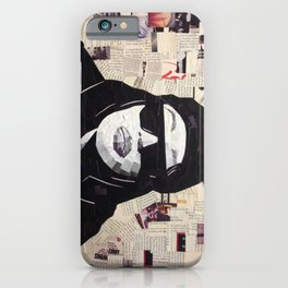 Chopped and Glued - Aaliyah iPhone Case