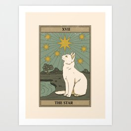 The Star Art Print
