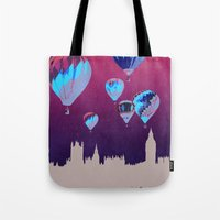 Sky of London Tote Bag