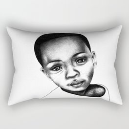 African Child Rectangular Pillow