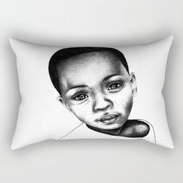 African Child Rectangular Pillow