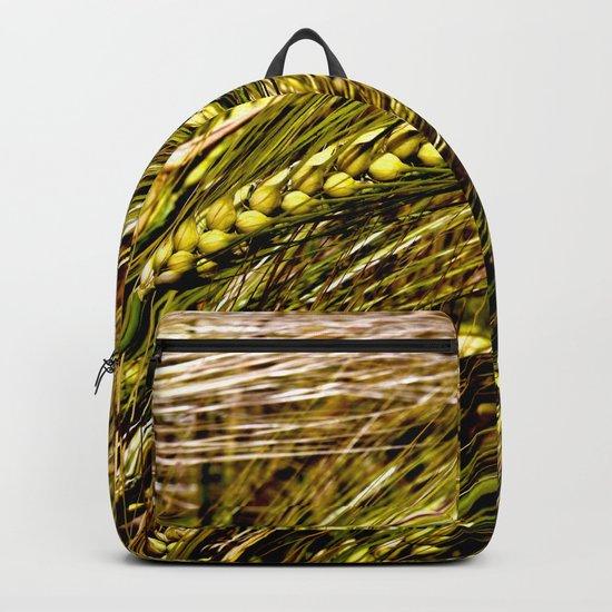 Golden Wheat Field Backpack