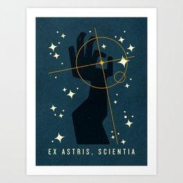 Ex Astris, Scientia Art Print