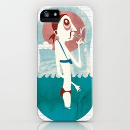 Typical Tourists - Beach Smoker iPhone Case