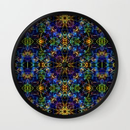 Cosmic Garden Wall Clock