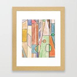Heb (2010) Framed Art Print