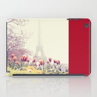 paris iPad Cases featuring Paris by Gabriela Da Costa