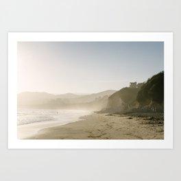 El Capitan Canyon - Santa Barbara Beach  Art Print