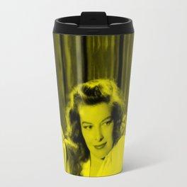 Katherine Hepburn - Celebrity (Florescent Color Technique) Travel Mug