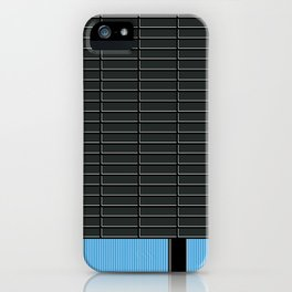 Cubo Negro -Detail- iPhone Case