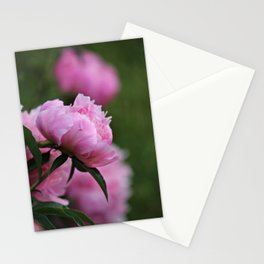 Pretty Pink Peonies Stationery Cards
