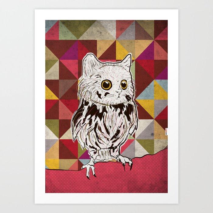 Owlcat Art Print