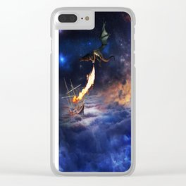 Extraterrestrial Clear iPhone Case