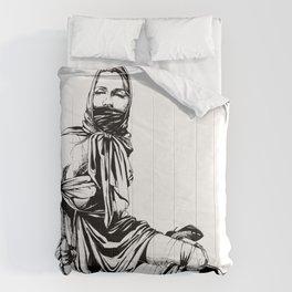 Silk Scarf Slave. Yury Fadeev© Comforters