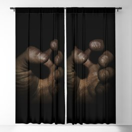 Working Man's Hand Blackout Curtain