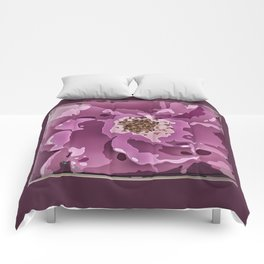 Dark Rose 1 Comforters