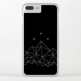 The Night Court insignia from A Court of Frost and Starlight Clear iPhone Case