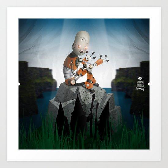 Fairytales 2 (Gotcha!) Art Print