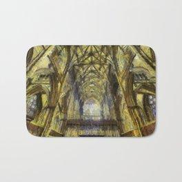 York Minster Van Gogh Style Bath Mat
