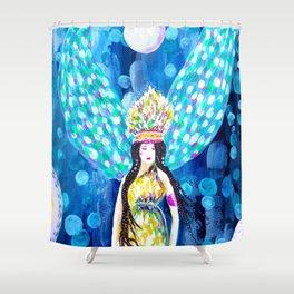 High Priestess Shower Curtain