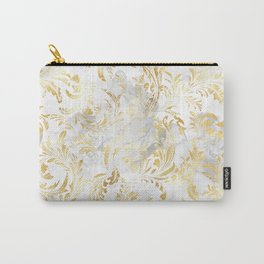 Elegant Gold swirls Carry-All Pouch