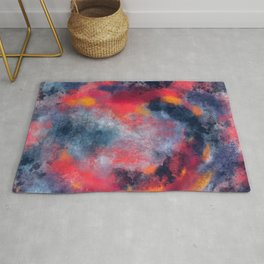 Abstract Texture Digital Painting Rug