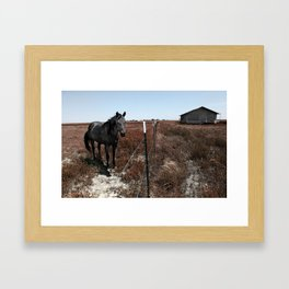 The Ghost of Palo Duro Framed Art Print