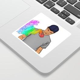 Rainbow Blitz Sticker