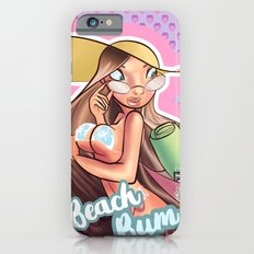 Beach Babe Black and White  Slim Case iPhone 6s