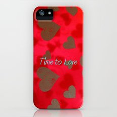 time to love Slim Case iPhone (5, 5s)