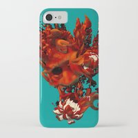 karma iPhone & iPod Cases featuring Karma by angrymonk