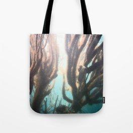 Deep Blue Reef Tote Bag