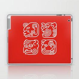 Mayan Glyphs ~ Heads Laptop & iPad Skin