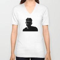 brooklyn V-neck T-shirts featuring Brooklyn by Addison Karl