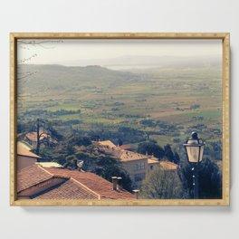 Tuscany. Cortona. Serving Tray
