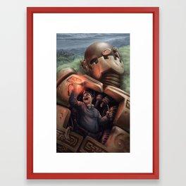 The Junkman Framed Art Print