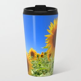 SUNFLOWER FIELD Travel Mug