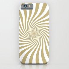 Swirl (Sand/White) iPhone 6s Slim Case