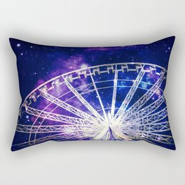 Galaxy Ferris Wheel Rectangular Pillow