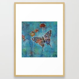 You Were Born to Fly Framed Art Print